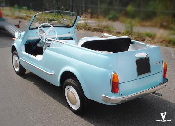 Fiat 500 Giardiniera Holiday Vernagallo Stile