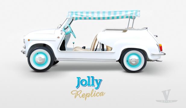 Fiat 600 Jolly Vernagallo Stile