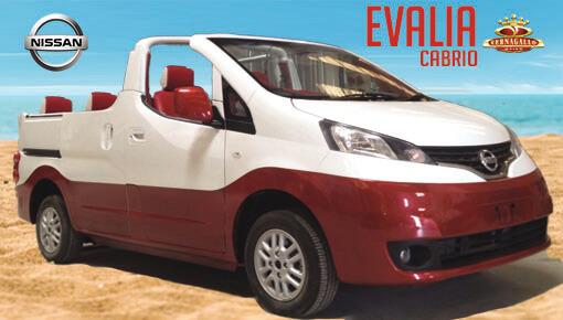 Nissan Evalia Cabrio